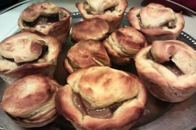 Meat pies from the Wall