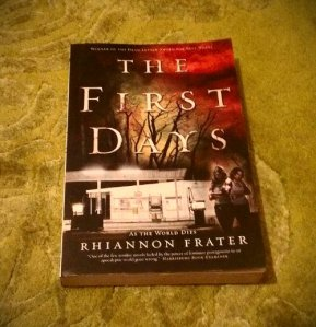 The first days av Rhiannon Frater